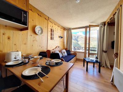 Rent in ski resort Studio cabin 4 people (0405) - La Résidence le Villaret - Les Menuires