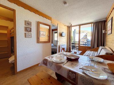 Rent in ski resort 2 room apartment cabin 5 people (109) - La Résidence le Villaret - Les Menuires
