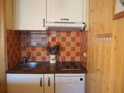 Location au ski Studio cabine 4 personnes (329) - La Residence Les Asters - Les Menuires - Kitchenette