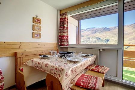 Location au ski Appartement duplex 2 pièces 5 personnes (E18) - La Residence Les Lauzes - Les Menuires - Coin repas