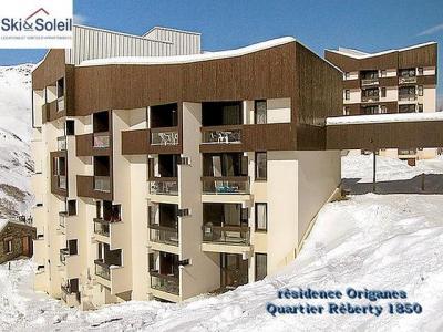 Location Les Menuires : La Residence Les Origanes hiver