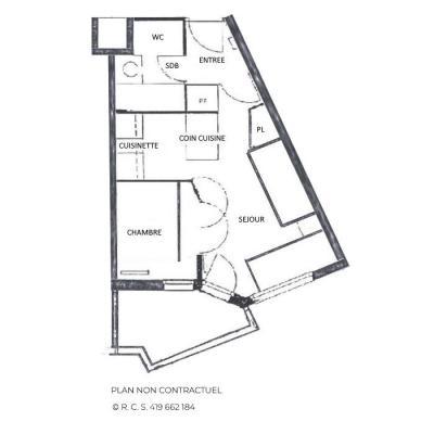 Location au ski Appartement 2 pièces 4 personnes (304) - La Résidence Médian - Les Menuires