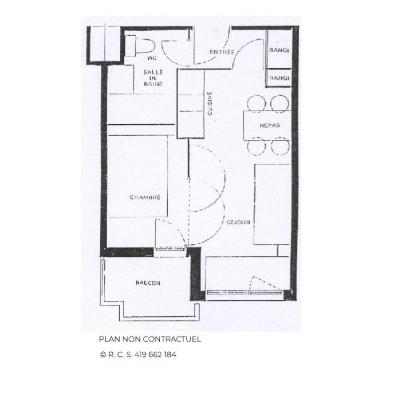 Location au ski Appartement 2 pièces 4 personnes (618) - La Résidence Médian - Les Menuires