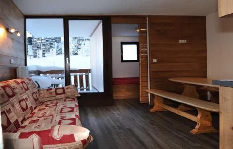 Location au ski Studio cabine 4 personnes (1001) - La Residence Ski Soleil - Les Menuires - Coin repas