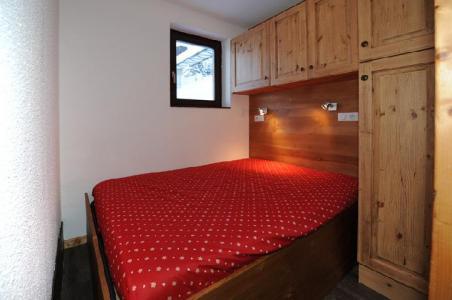 Location au ski Studio cabine 4 personnes (1001) - La Residence Ski Soleil - Les Menuires - Lit double