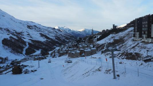 Location au ski Studio cabine 4 personnes (1605) - La Residence Ski Soleil - Les Menuires - Lits superposés