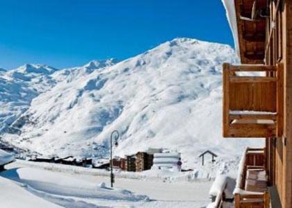 Location au ski Le Chalet Lili - Les Menuires - Extérieur hiver