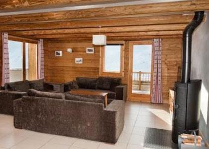 Location au ski Le Chalet Lili - Les Menuires - Coin séjour