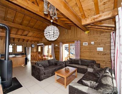Location au ski Le Chalet Lili - Les Menuires - Séjour