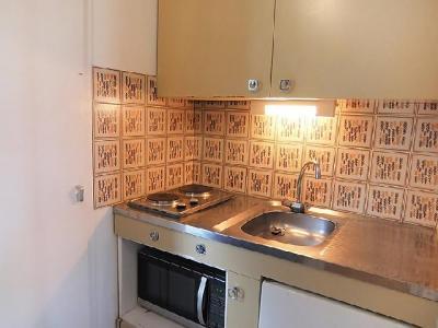 Rent in ski resort 1 room apartment 2 people (3) - Le Génépi - Les Menuires - Apartment
