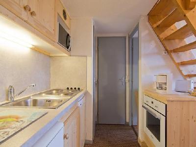 Rent in ski resort 3 room apartment 6 people (4) - Le Jetay - Les Menuires - Apartment