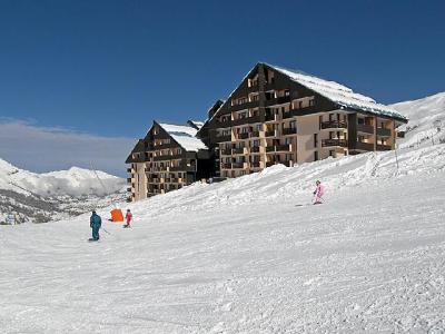 Rent in ski resort 1 room apartment 3 people (1) - Le Sarvan - Les Menuires - Winter outside