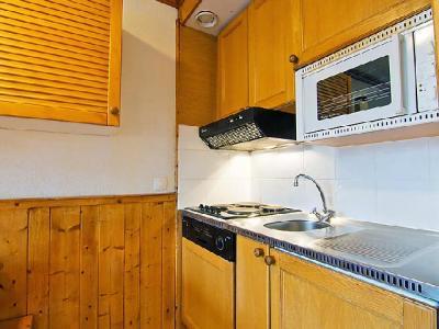 Rent in ski resort 2 room apartment 5 people (6) - Le Villaret - Les Menuires - Kitchen