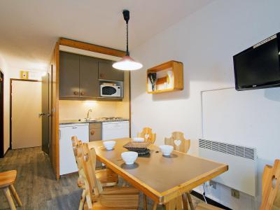 Rent in ski resort 2 room apartment 6 people (2) - Le Villaret - Les Menuires - Apartment