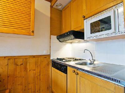 Rent in ski resort 2 room apartment 6 people (6) - Le Villaret - Les Menuires - Kitchen