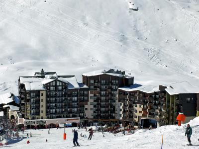 Rent in ski resort 1 room apartment 4 people (2) - Les Carlines 1 - Les Menuires - Winter outside