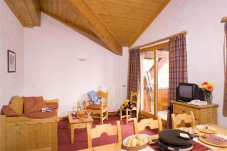 Location au ski Appartement 2 pièces alcôve 6 personnes - Les Chalets De L'adonis - Les Menuires - Coin repas
