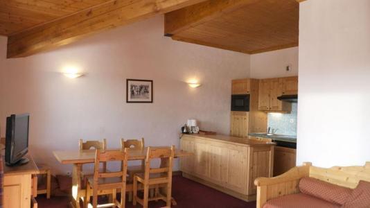 Location au ski Appartement 2 pièces alcôve 6 personnes - Les Chalets De L'adonis - Les Menuires - Coin séjour