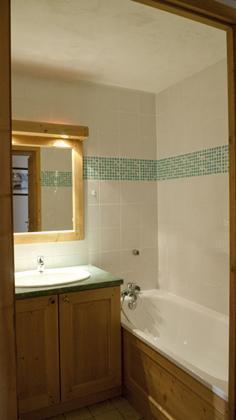 Location au ski Appartement 2 pièces alcôve 6 personnes - Les Chalets De L'adonis - Les Menuires - Salle de bains