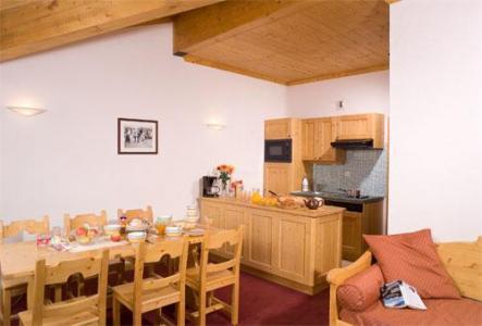 Location au ski Appartement 2 pièces alcôve 6 personnes - Les Chalets De L'adonis - Les Menuires - Séjour