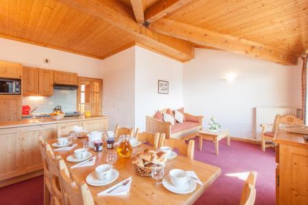 Location au ski Les Chalets de l'Adonis - Les Menuires - Cuisine