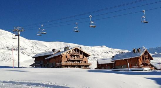 Location Les Menuires : Les Chalets du Soleil Authentiques hiver