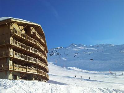 Location Les Menuires : Les Chalets du Soleil Contemporains hiver