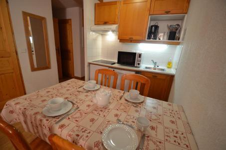 Location au ski Appartement 2 pièces cabine 4-6 personnes (002) - Les Côtes d'Or Chalet Argentière - Les Menuires