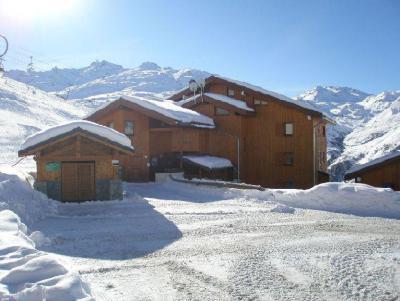 Location au ski Les Côtes d'Or Chalet Bossons - Les Menuires - Extérieur hiver