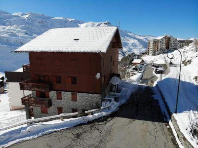 Location au ski Les Côtes d'Or Chalet Courmayeur - Les Menuires - Extérieur hiver