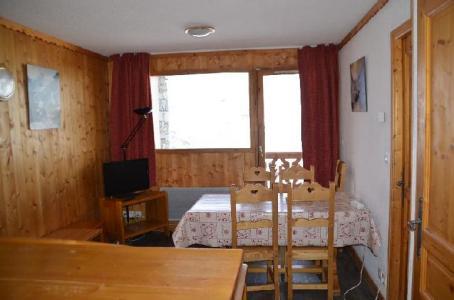 Location au ski Appartement 2 pièces cabine 4-6 personnes (312) - Les Cotes D'or Chalet Courmayeur - Les Menuires - Banquette