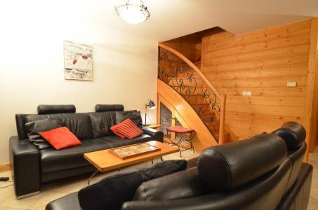 Location au ski Appartement duplex 4 pièces 8-10 personnes (342) - Les Côtes d'Or Chalet Courmayeur - Les Menuires - Séjour