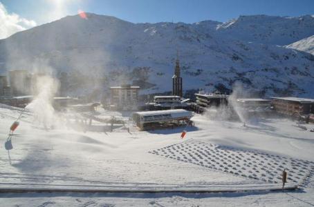 Location au ski Studio 3 personnes (514) - Residence Aravis - Les Menuires - Extérieur hiver