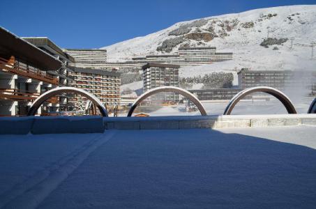 Location au ski Studio 4 personnes (14) - Résidence Beaufortain - Les Menuires