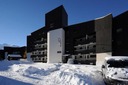 Location au ski Residence Biellaz - Les Menuires - Extérieur hiver