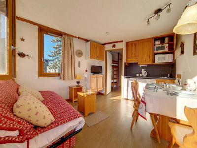 Rent in ski resort Studio cabin 4 people (134) - Résidence Boedette D - Les Menuires