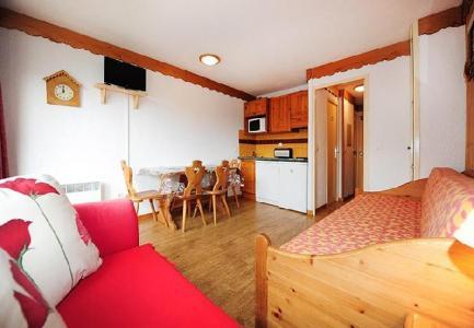 Location au ski Studio 4 personnes (517) - Residence Boedette - Les Menuires - Séjour