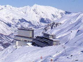 Location au ski Résidence Brelin - Les Menuires - Extérieur hiver