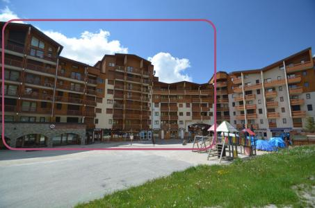 Location au ski Studio cabine 4 personnes - Residence Carlines - Les Menuires
