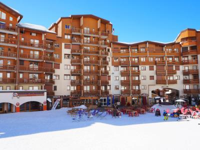 Location au ski Residence Carlines Ii - Les Menuires - Extérieur hiver