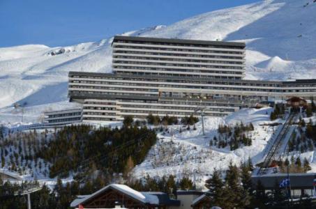 Vacances en montagne Résidence Challe - Les Menuires - Extérieur hiver