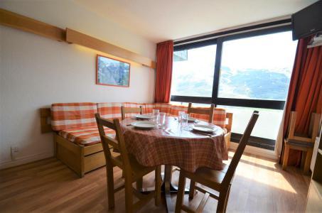 Location au ski Appartement triplex 3 pièces 7 personnes (835) - Résidence Challe - Les Menuires - Séjour