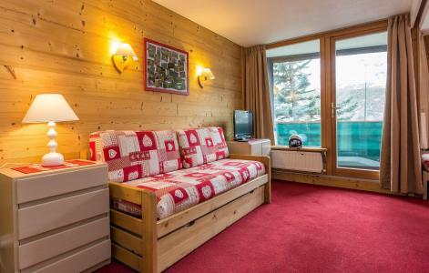 Location au ski Résidence Chanteneige Croisette - Les Menuires - Banquette-lit