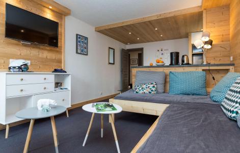 Location au ski Résidence Chanteneige Croisette - Les Menuires - Coin séjour