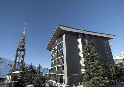 Location au ski Residence Chanteneige Croisette - Les Menuires - Extérieur hiver