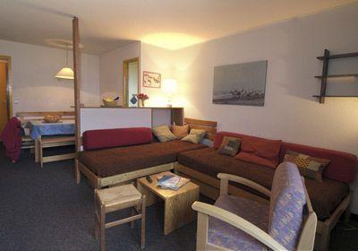 Location au ski Studio 4 personnes - Residence Chanteneige Croisette - Les Menuires - Séjour