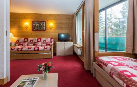Location au ski Résidence Chanteneige Croisette - Les Menuires - Tv