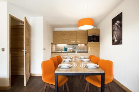 Rent in ski resort Résidence Club MMV le Coeur des Loges - Les Menuires - Dining area