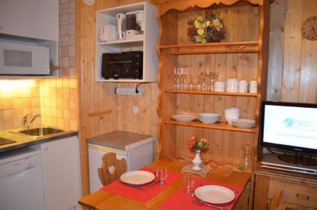 Location au ski Studio 2 personnes (645) - Residence Combes - Les Menuires - Kitchenette
