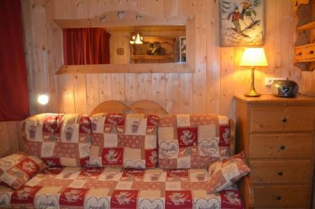 Location au ski Studio 2 personnes (645) - Residence Combes - Les Menuires - Séjour